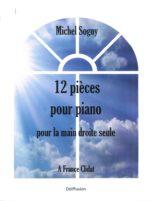 12 pieces pour piano